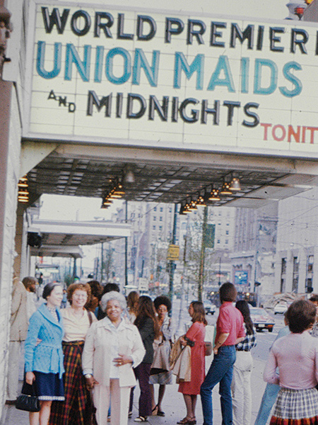 Image of marquee from Union Maids